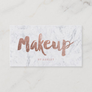 Makeup Artist Business Cards Zazzle Au