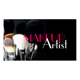 MakeUp Artist, Nails, Cosmetology Business Card Standard Business Cards