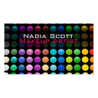 Makeup Artist Palette Business Card Bright