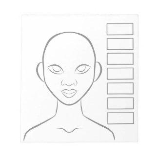 Makeup Artist Planner Notepad
