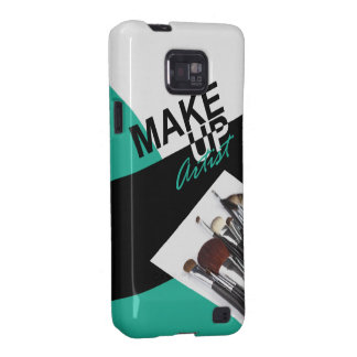Makeup Artist Pro designer phone case | aqua Samsung Galaxy SII Cases