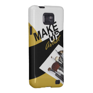 Makeup Artist Pro designer phone case | golden Samsung Galaxy S2 Cases