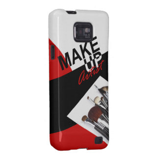 Makeup Artist Pro designer phone case | red Galaxy SII Covers