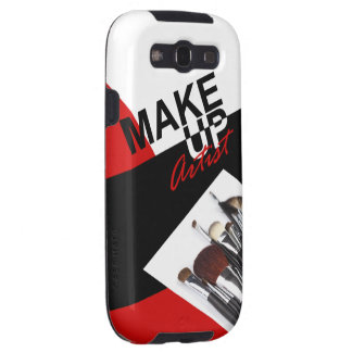Makeup Artist Pro designer phone case | red Samsung Galaxy SIII Cover