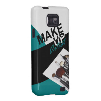 Makeup Artist Pro designer phone case | teal Samsung Galaxy S2 Cover