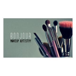 MakeUp Artist, Salon, Beauty, Cosmetologist Business Card Template