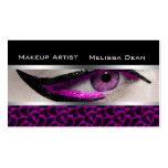 Makeup Artist Salon Print Business Card
