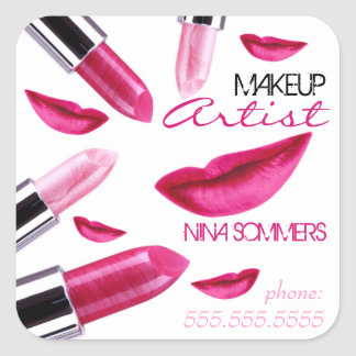 Makeup Artist Sticker