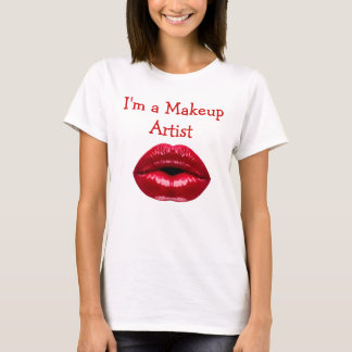 Makeup Artist Theme T-Shirt