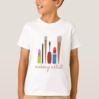 Makeup Artist Tools Tee Shirts