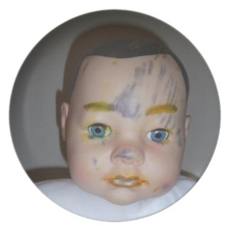 MakeUp Baby Plate