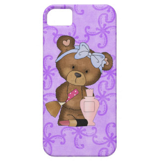Makeup Bear iPhone 5 case mate barely there