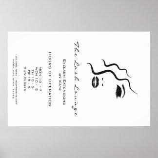 Makeup Beauty Salon Name Logo Glam Adress Opening1 Poster