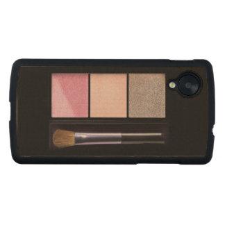 Makeup Carved® Maple Nexus 5 Slim Case