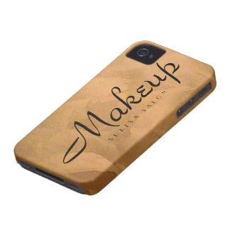 Makeup Copper Metallic iPhone 4 Covers