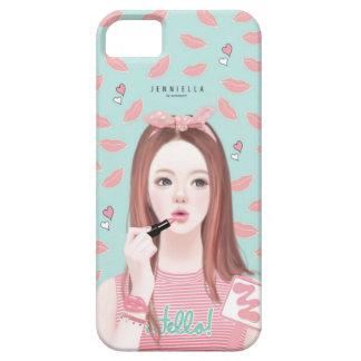 makeup Jennie iphone 5/5s case