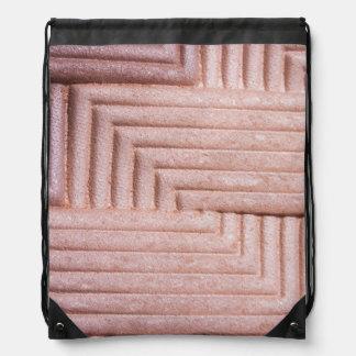 Makeup on the go drawstring bag