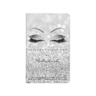 Makeup Stylist Branding Beauty Salon Gray Lashes Journal