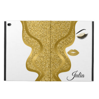 Makeup with glitter effect powis iPad air 2 case