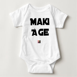 MAKI AGE - Word games - François City Baby Bodysuit