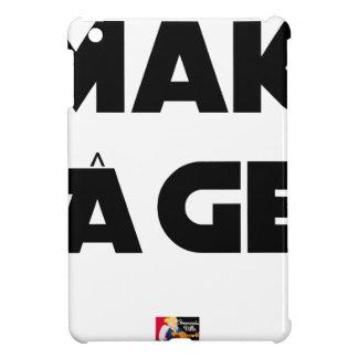 MAKI AGE - Word games - François City iPad Mini Case