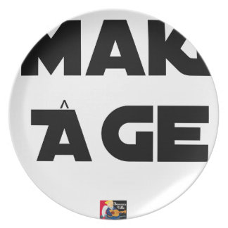 MAKI AGE - Word games - François City Plate