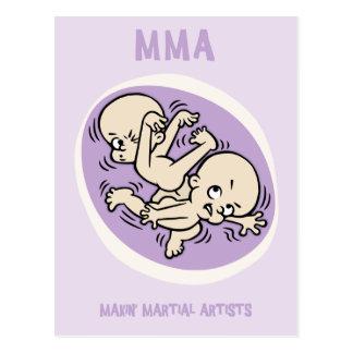 Makin' Martial Artists Postcard
