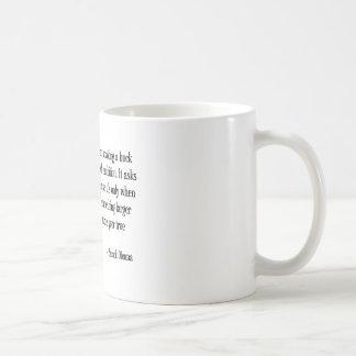 Making a buck classic white coffee mug