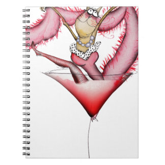 making a splash, tony fernandes spiral note books
