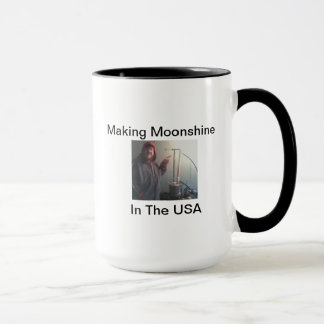 MAKING MOONSHINE IN THE USA MUG