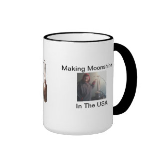 MAKING MOONSHINE IN THE USA MUGS
