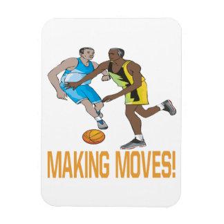 Making Moves Rectangular Photo Magnet