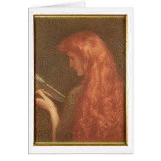 Making Music (pastel on paper) Card