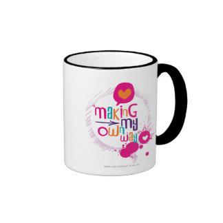 Making My Own Way Ringer Mug