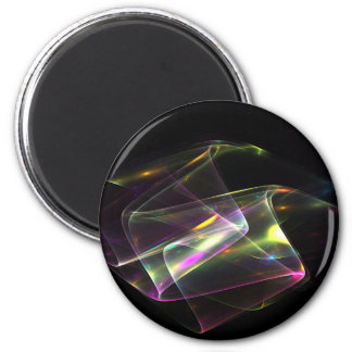 Making Rainbows 6 Cm Round Magnet