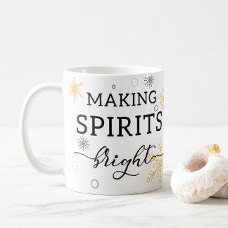Making Spirits Bright Holiday Coffee Mug