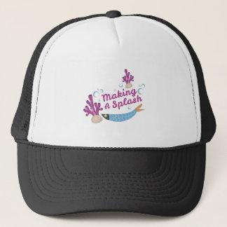 Making Splash Trucker Hat