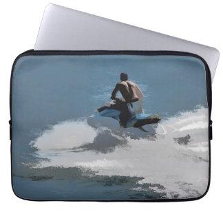 Making Waves - Jet Skier Laptop Sleeve