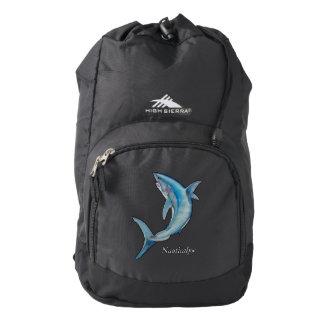 mako shark back pack