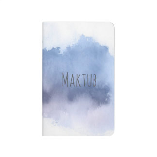 Maktub pocket Journal blue