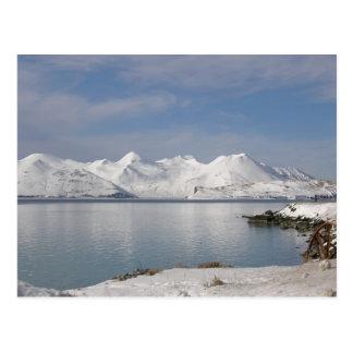 Makushin Mountains in Winter Postcard