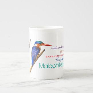 Malachite Kingfisher Tea Mug
