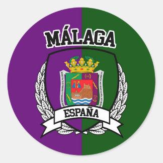 Málaga Classic Round Sticker