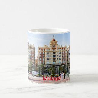Malaga. View of the city center Coffee Mug