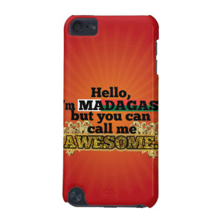 Malagasy, but call me Awesome iPod Touch (5th Generation) Cover