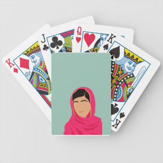 Malala Yousafzai Bicycle Playing Cards