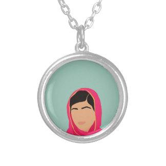Malala Yousafzai Silver Plated Necklace