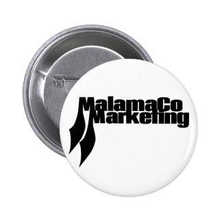 MalamaCo Marketing Button (Black).
