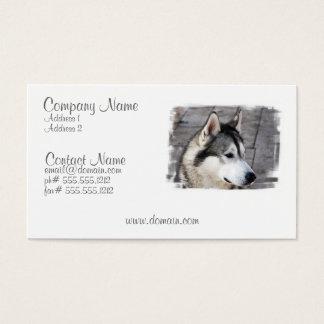 Malamute Business Card