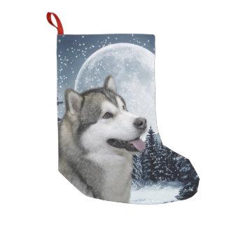 Malamute Christmas Stocking